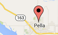 Pella Location Zoomed In